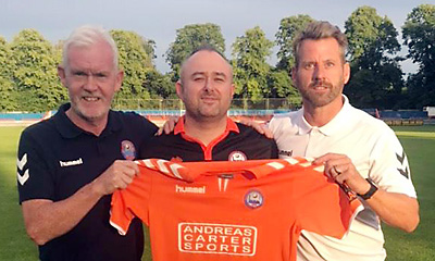 fcfe757bc Manager Glen Driver has strengthened his staff with the appointment of Ian  McCormack: