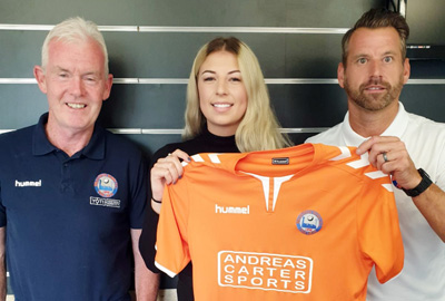 a7a8a7949 The forthcoming season will see the Iron players tended to by a new Club  physiotherapist - Hannah Travell - who graduated from The University of  East London ...
